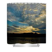 Departing Clouds Shower Curtain