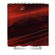 Departing World Shower Curtain