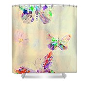 Departure In Purpose And Life As You Are By Lisa Kaiser Shower Curtain