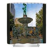 Depew Memorial Fountain Shower Curtain