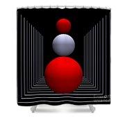 Depth  -9- Shower Curtain