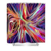 Depth And Color Shower Curtain