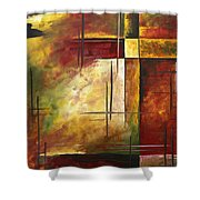 Depth Of Emotion II By Madart Shower Curtain