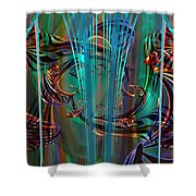 Depths Shower Curtain