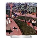 Derain: Hyde Park Shower Curtain
