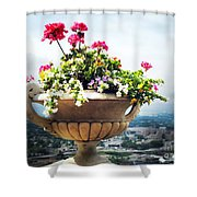 Derby Day Gala Shower Curtain