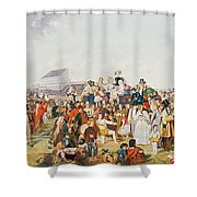 Derby Day Shower Curtain