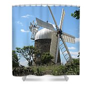 Derbyshire Windmill Shower Curtain