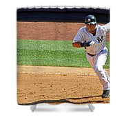 Derek Jeter Shower Curtain