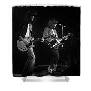 Derringer 77 #48 Enhanced Bw Shower Curtain