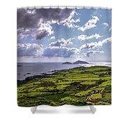 Derrynane National Park Along Ring Of Kerry, Ireland Shower Curtain
