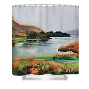 Derwentwater Shower Curtain