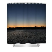 Descending  Shower Curtain