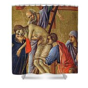Descent From The Cross Fragment 1311 Shower Curtain