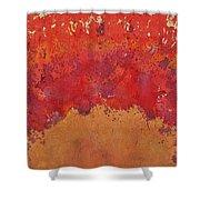 Desert Arch Original Painting Shower Curtain