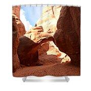 Desert Arch Shower Curtain