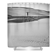 Desert Austerity Shower Curtain