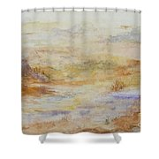 Desert Canyon  Shower Curtain