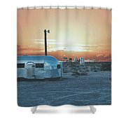 Desert Caravan Shower Curtain