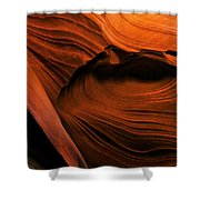 Desert Carvings Shower Curtain