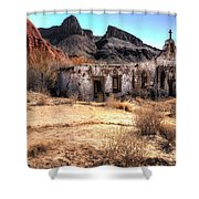 Desert Church Shower Curtain