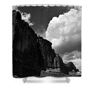 Desert Colossus Shower Curtain
