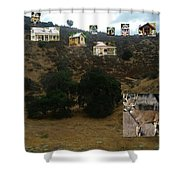 Desert Cottages Shower Curtain