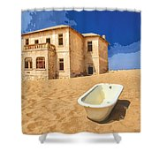 Desert Dreamscape 3 Shower Curtain