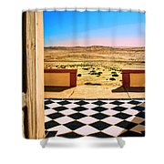 Desert Dreamscape Shower Curtain