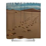 Desert Exploration Shower Curtain