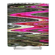 Desert Flowers Abstract Shower Curtain