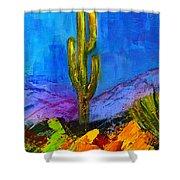 Desert Giant Shower Curtain
