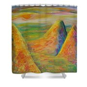 Desert Hiding 2 Shower Curtain