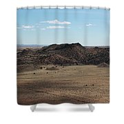 Desert Hills Shower Curtain