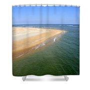 Desert Island Shower Curtain