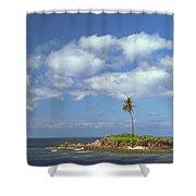 Desert Island Shower Curtain