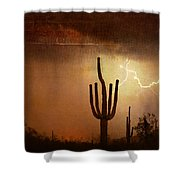 Desert Landscape Southwest Shower Curtain