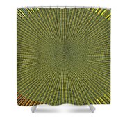 Desert Marigold Flowers Abstract #2 Shower Curtain