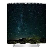 Desert Night Skies  Shower Curtain