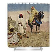 Desert Nomads Shower Curtain