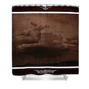 Desert Rain Shower Curtain