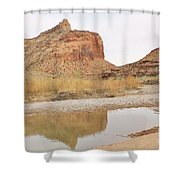 Desert Reflections 2 Shower Curtain