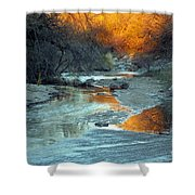 Desert Reflections Shower Curtain