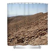 Desert Rock Shower Curtain