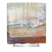 Desert Scene1 Shower Curtain