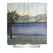 Desert Sea Shower Curtain