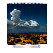 Desert Sky Shower Curtain