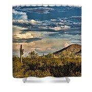 Desert Sky - San Tan Arizona Shower Curtain