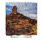 Desert Spire Shower Curtain