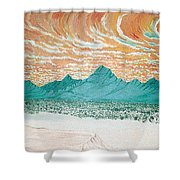 Desert Splendor Shower Curtain